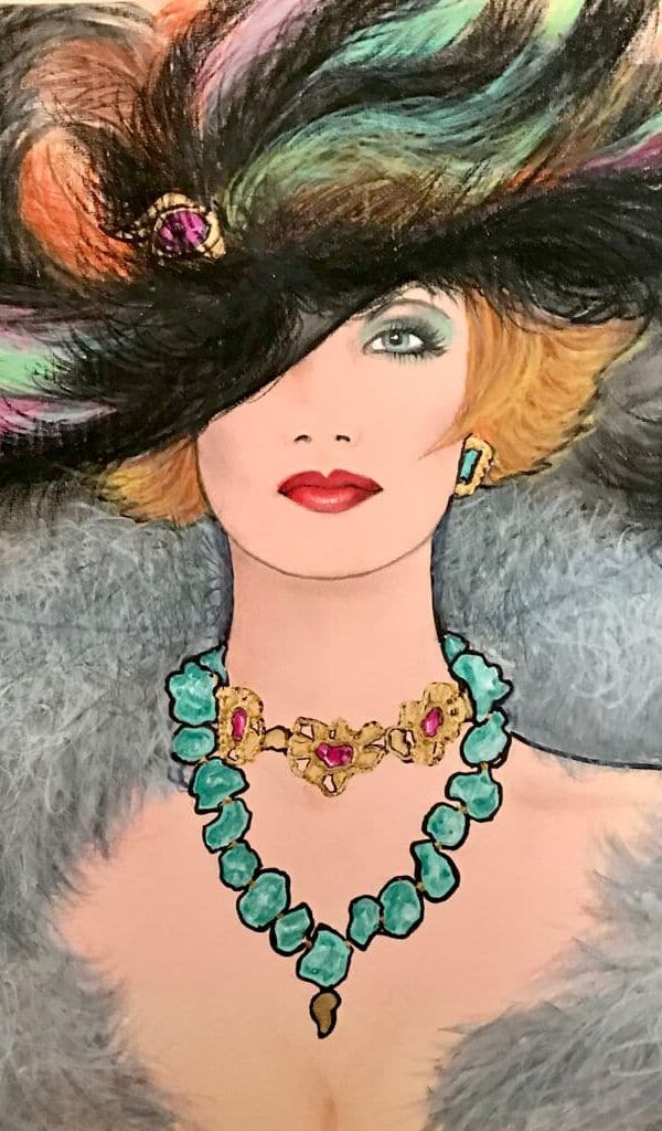 Feathered Beauty-print
