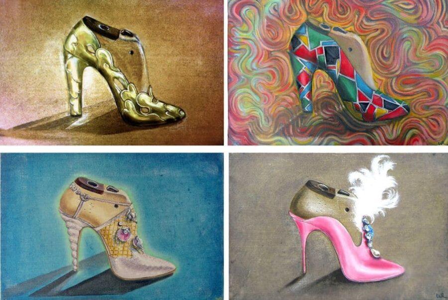 Heels... Set of 4