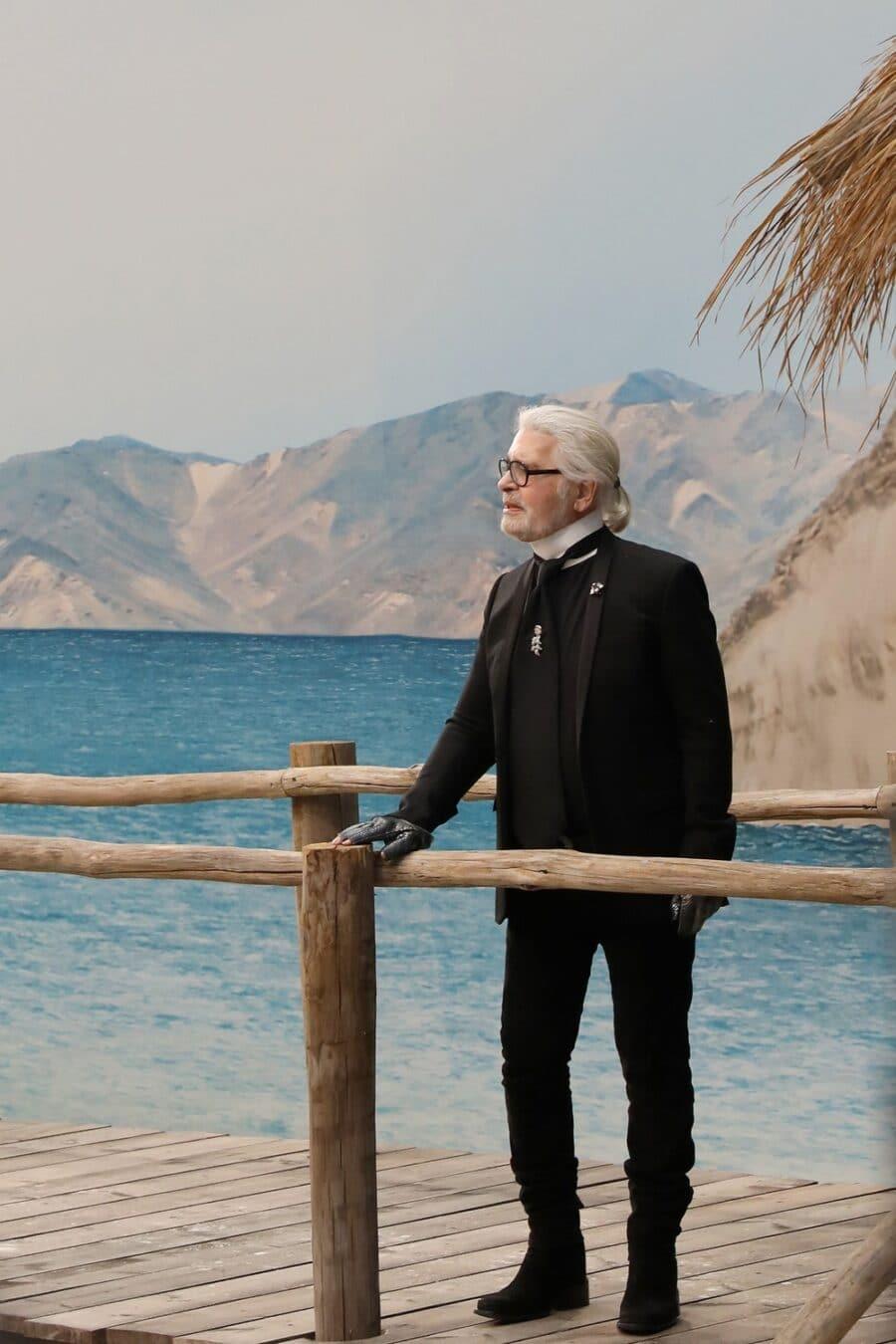 Karl Lagerfeld - colour