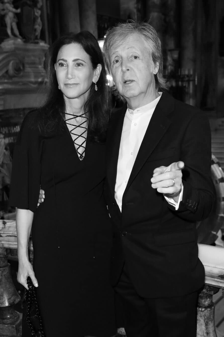 Nancy Shevell & Paul McCartney