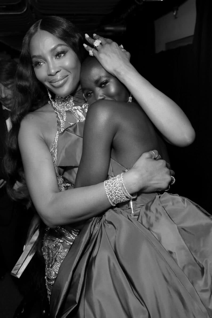 Naomi Campbell & Adut Akech
