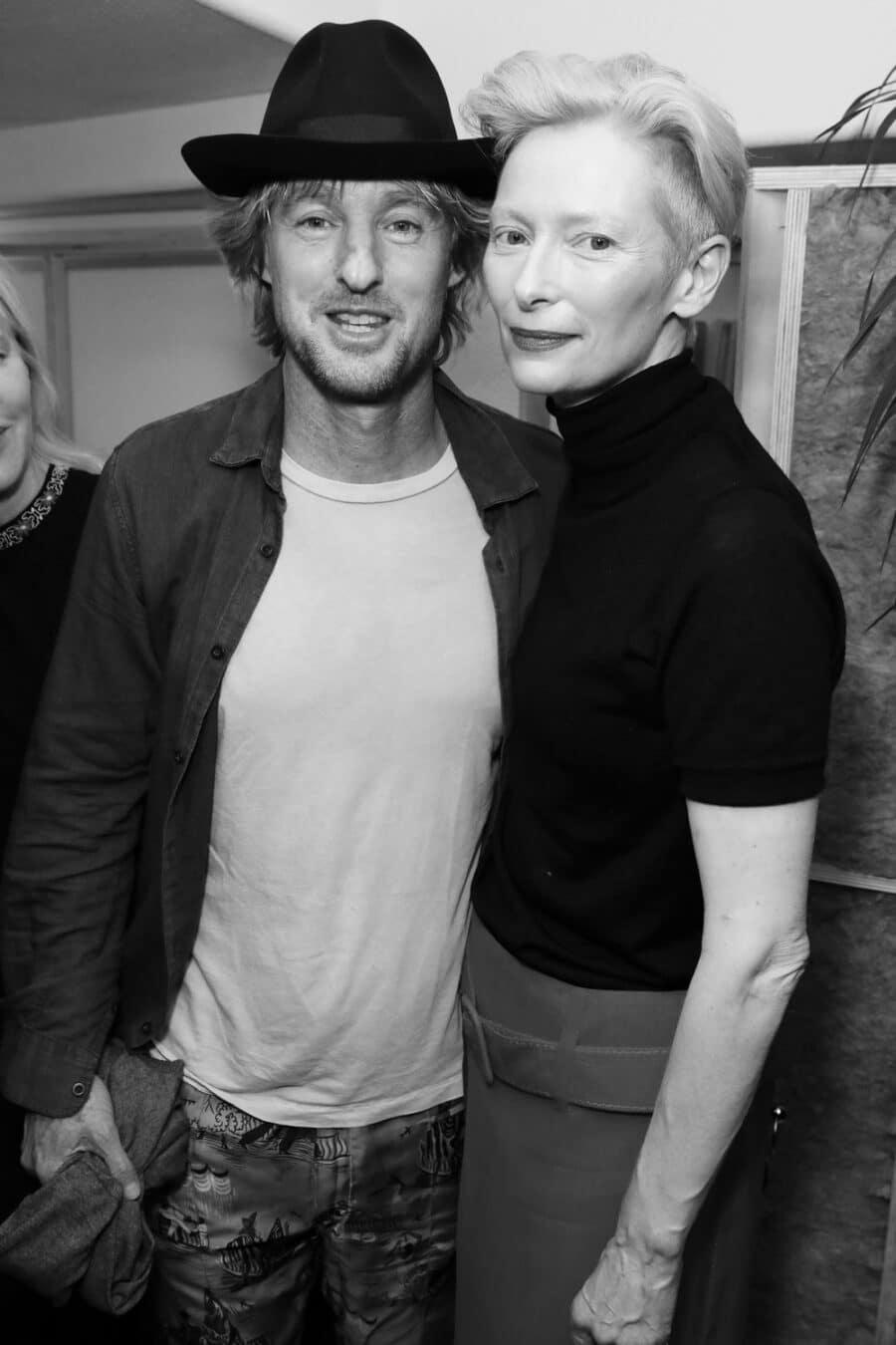 Owen Wilson & Tilda