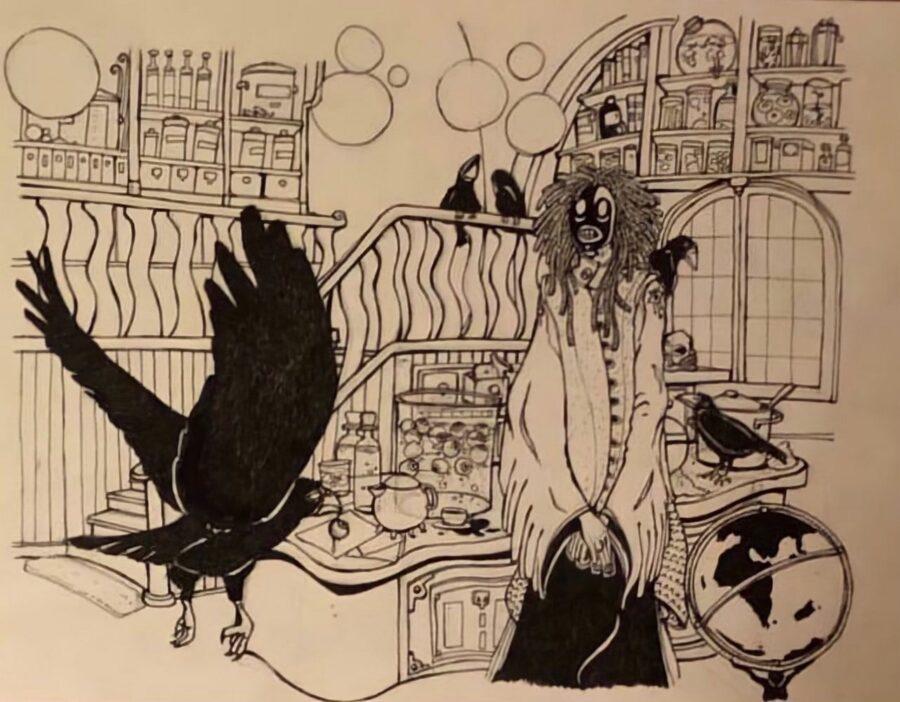Sandman and Raven