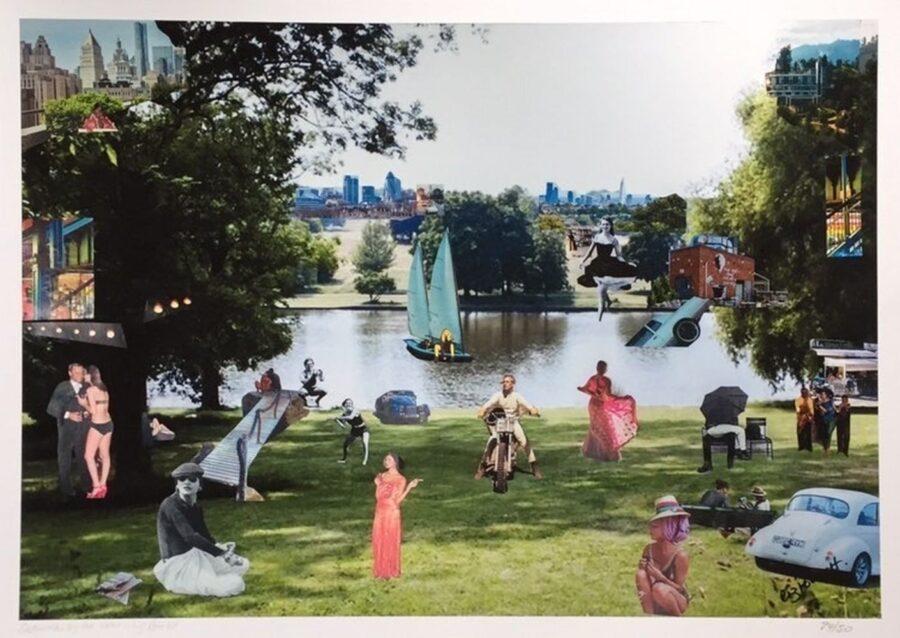 Saturday by the Lake (Hampstead Heath) 2018