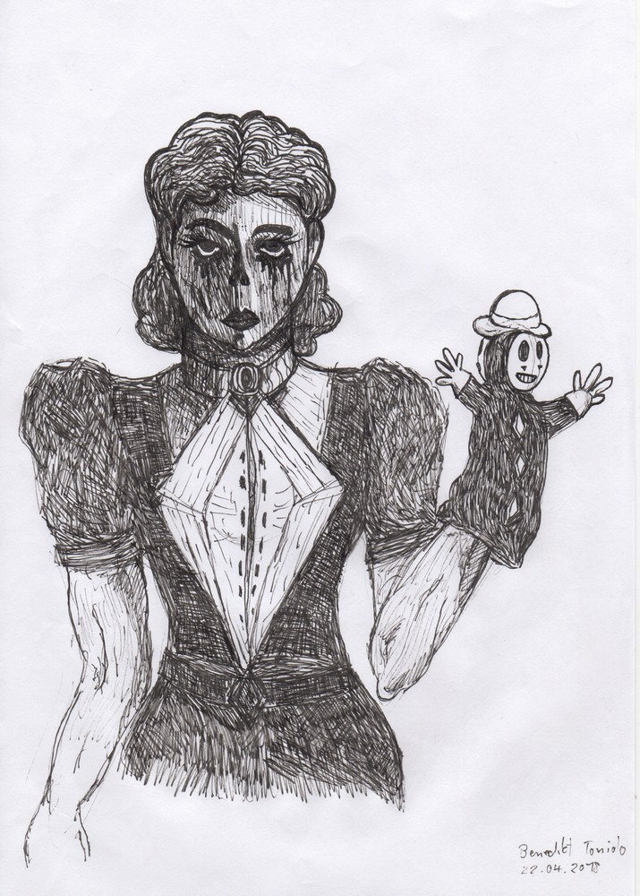 The Girl with the Puppet