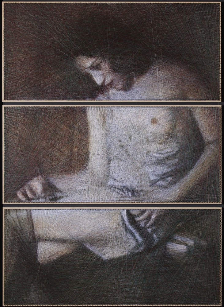 After the night (triptych)