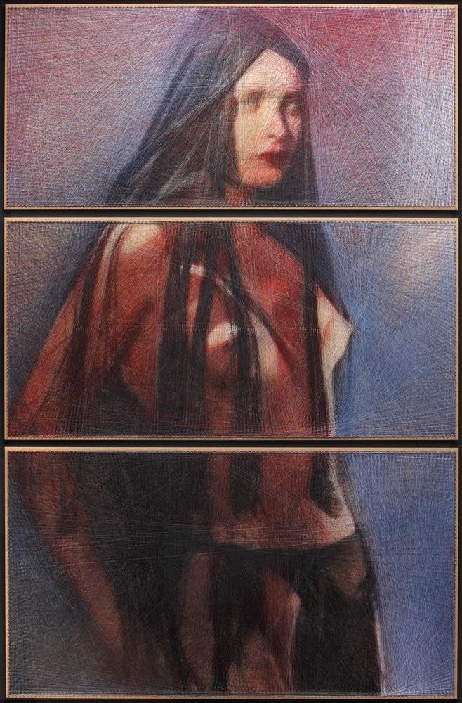 Amazon (triptych)