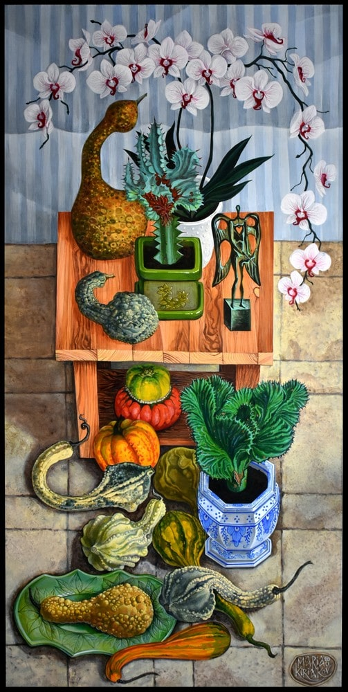 Gourds & Orchids